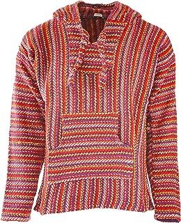 Premium Baja Hoodie Sweatshirt Pullover Jerga Poncho