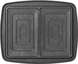 Lagrange 030423 Jeux de plaques antiadhésives, noir