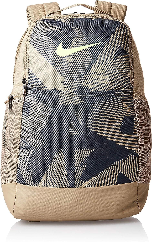 Our shop most popular NIKE Brasilia AOP SP20 Backpack Unisex Grey Dk Smoke Ghos Khaki Super Special SALE held