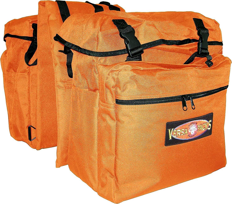 5703690152e5 VersaPacks Back Pack Saddle Bag, orange Equine Hamilton nuopyr8143 ...