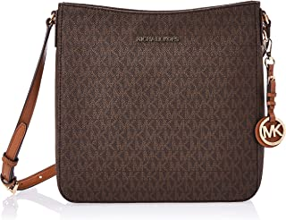 Michael Kors Signature Crossbody Bag for Women - Leather