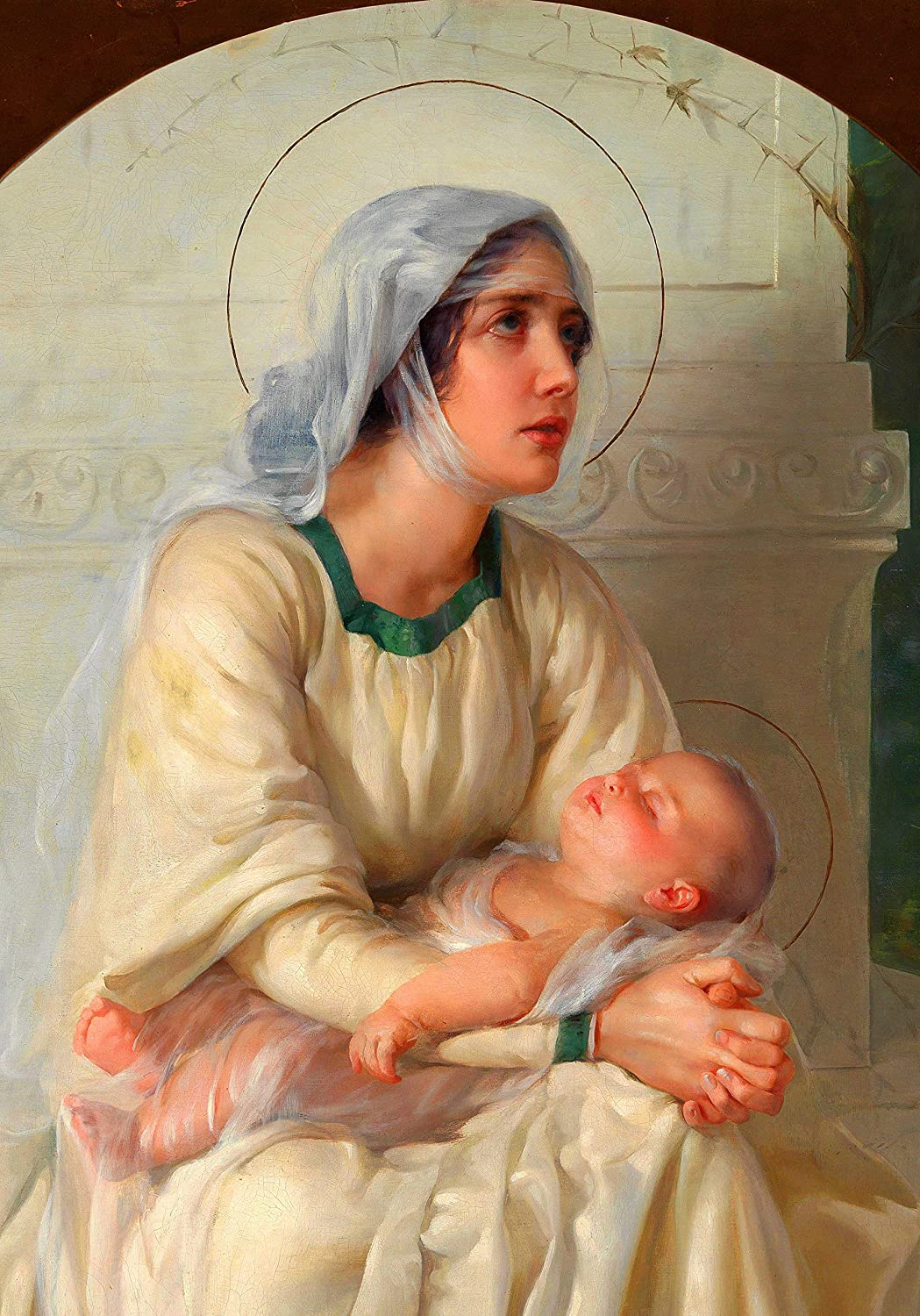 Madonna and Child Christmas POSTER print Mary Virgin A2 New Popular products popularity Baby Jes