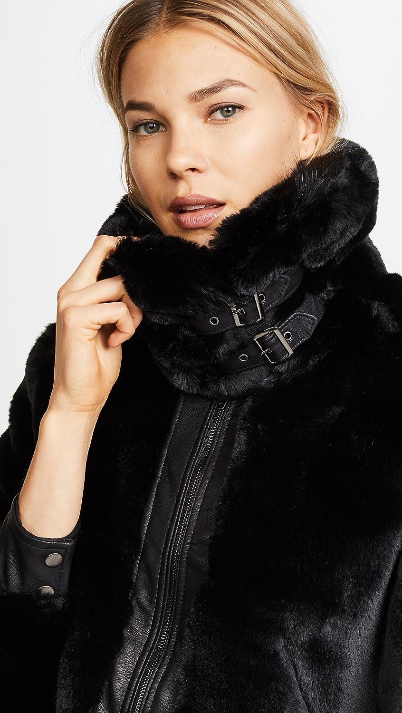 [BLANKNYC] womens Faux Fur Coat