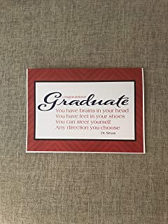 Dr. Seuss, Graduation card,