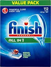 Finish Powerball All in One Dishwasher Tablets, Original, 112 Pack