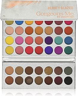 Beauty Glazed Professional Makeup 63 Colors EyeShadow Palette Powder Gorgeous Me Eye Shadow Tray Set