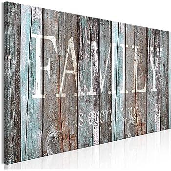 Amazon Com Stratton Home Decor Rustic Family Wood Wall Decor 20 00 W X 1 00 D X 16 00 H Multi Posters Prints