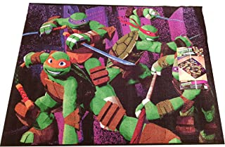 Nickelodeon Teenage Mutant Ninja Turtles Decorative Rug Kids Floor Mat 39.5 x 54 Inch