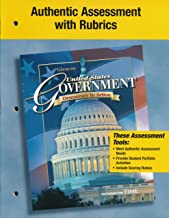 Authentic Assessment with Rubrics (United States Government, Democracy in Action)