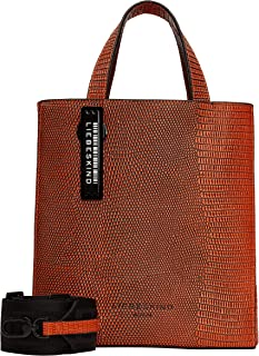 Liebeskind Berlin Damen Flare Lizard Paper Bag Handtasche, Small (HxBxT 25.0cm x22.0cm x11.5cm)
