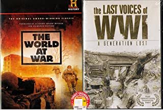The World At War : The History Channel Complete Uncut 23 Hours 24 Min Classic Series with Bonus Series - The Last Voices of World War 1 - 3 Hours 41 Min - Over 27 Hours Combined
