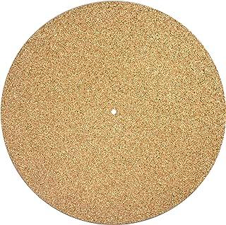 Turntable Mat Slipmat Cork (Diameter: 30 Centimeter Thickness: 3 Millimetre) Vinyl Record Improve Sound Quality Reduce Vib...