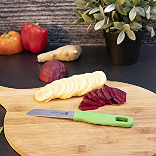 Royalford Stainless Steel Fruit Knife Set (12 pcs) - Stainless Steel Razor Sharp Blades - Ultra Sharp Cooking Knives, Perf...