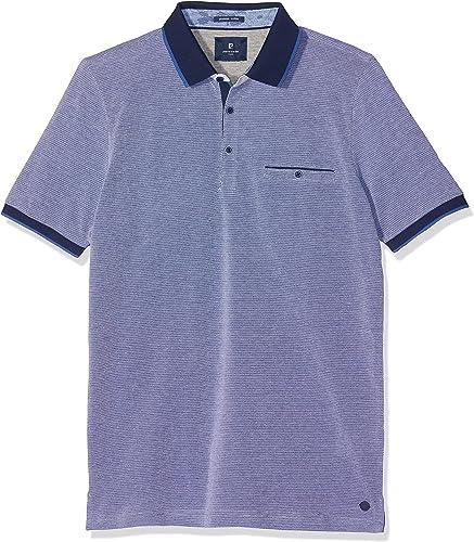 Pierre voituredin Poloshirt Premium Cotton Pique TriCouleur Airtouch Polo Homme