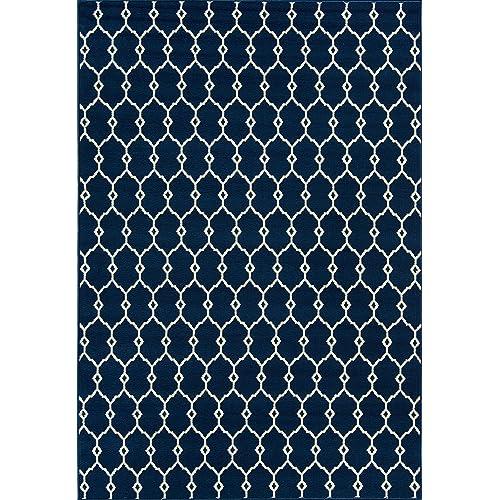Navy Blue Outdoor Rug Amazoncom