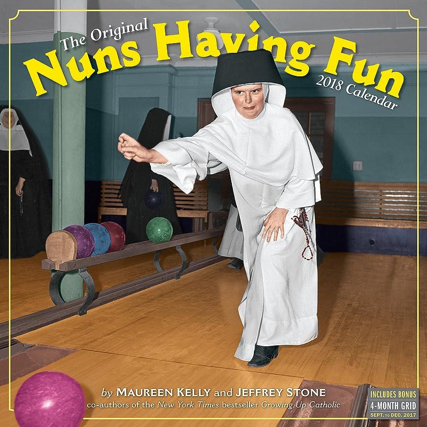 エリートメール楽しませるThe Original Nuns Having Fun 2018 Calendar
