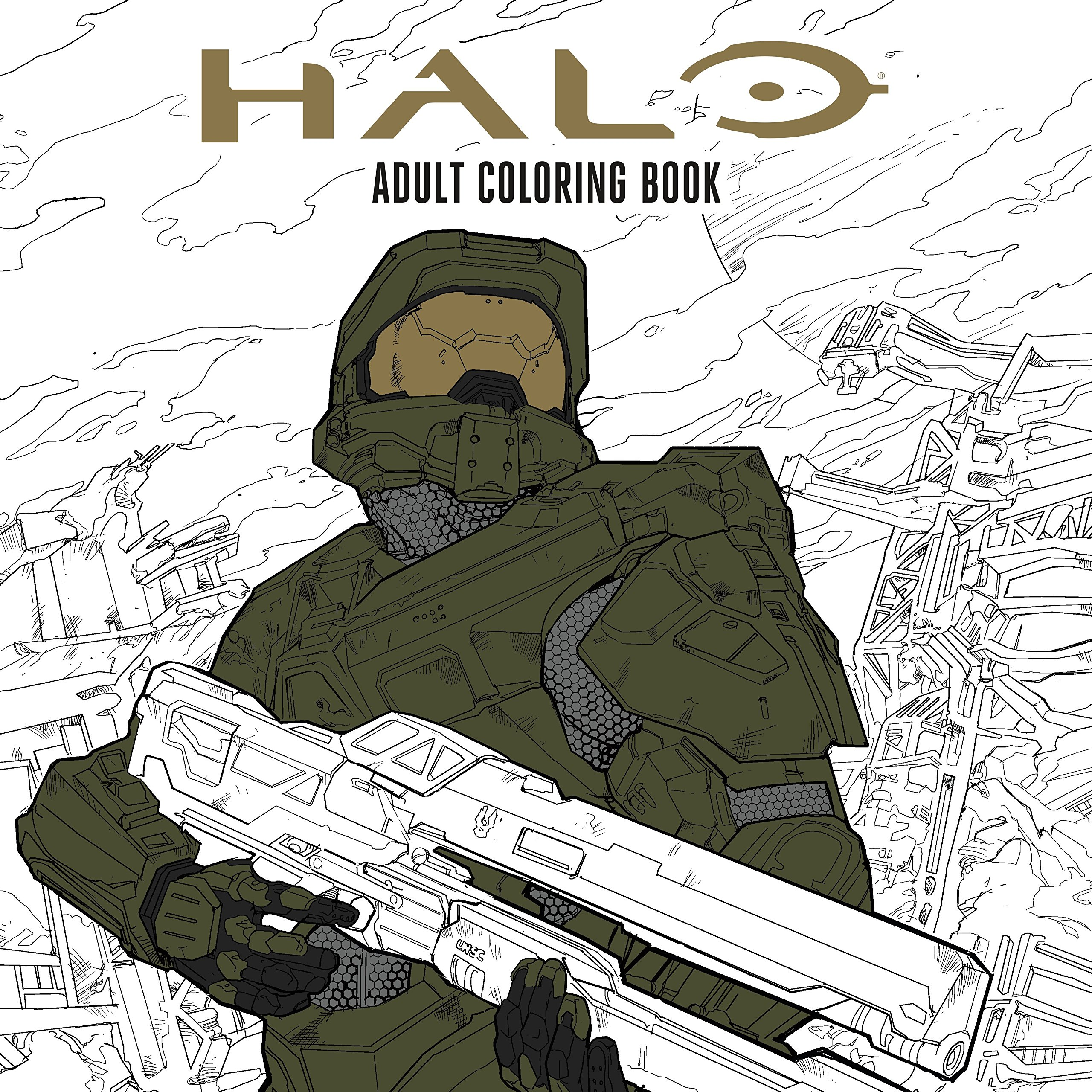 Free Printable Halo Coloring Pages For Kids | 2560x2560