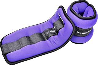 BalanceFrom GoFit Fully Adjustable Ankle Wrist Arm Leg Weights, Adjustable Weights, Adjustable Strap