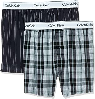 Calvin Klein Men's Slim 2Pk Boxers
