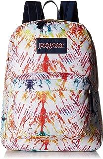 rainbow tie dye backpack