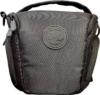 Smile - Bolsa Holster para Cámaras Fotográficas DSLR y Réflex - Ideal para Cámaras Réflex con Objetivo Básico Tipo Kit Negro