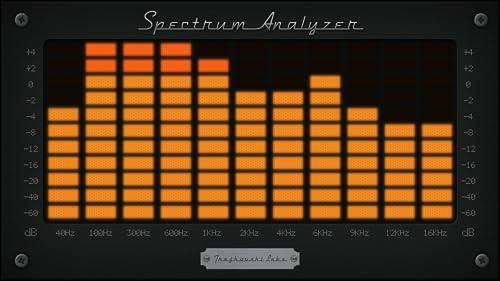 『Spectrum Analyzer - Audio』の4枚目の画像