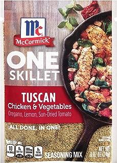 McCormick Tuscan Chicken & Vegetables One Skillet Seasoning Mix, 0.87 oz
