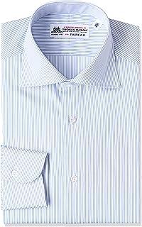(フェアファクス) FAIRFAX(フェアファクス) 細ストライプワイドカラーシャツ 5002