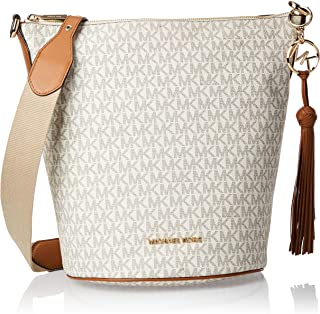 Michael Kors Hobo Bag for Women- Monogram/Vanilla