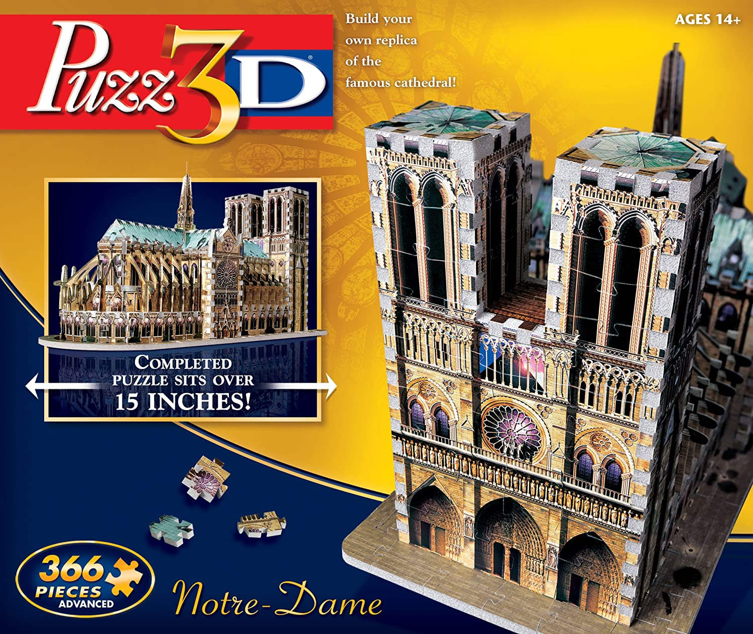 Winning High quality Solutions Credence Puzz3D Notre Dame Puzzle