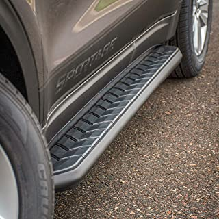 ARIES 2051970 AeroTread 70-Inch Black Stainless Steel SUV Running Boards Brackets Sold Separately