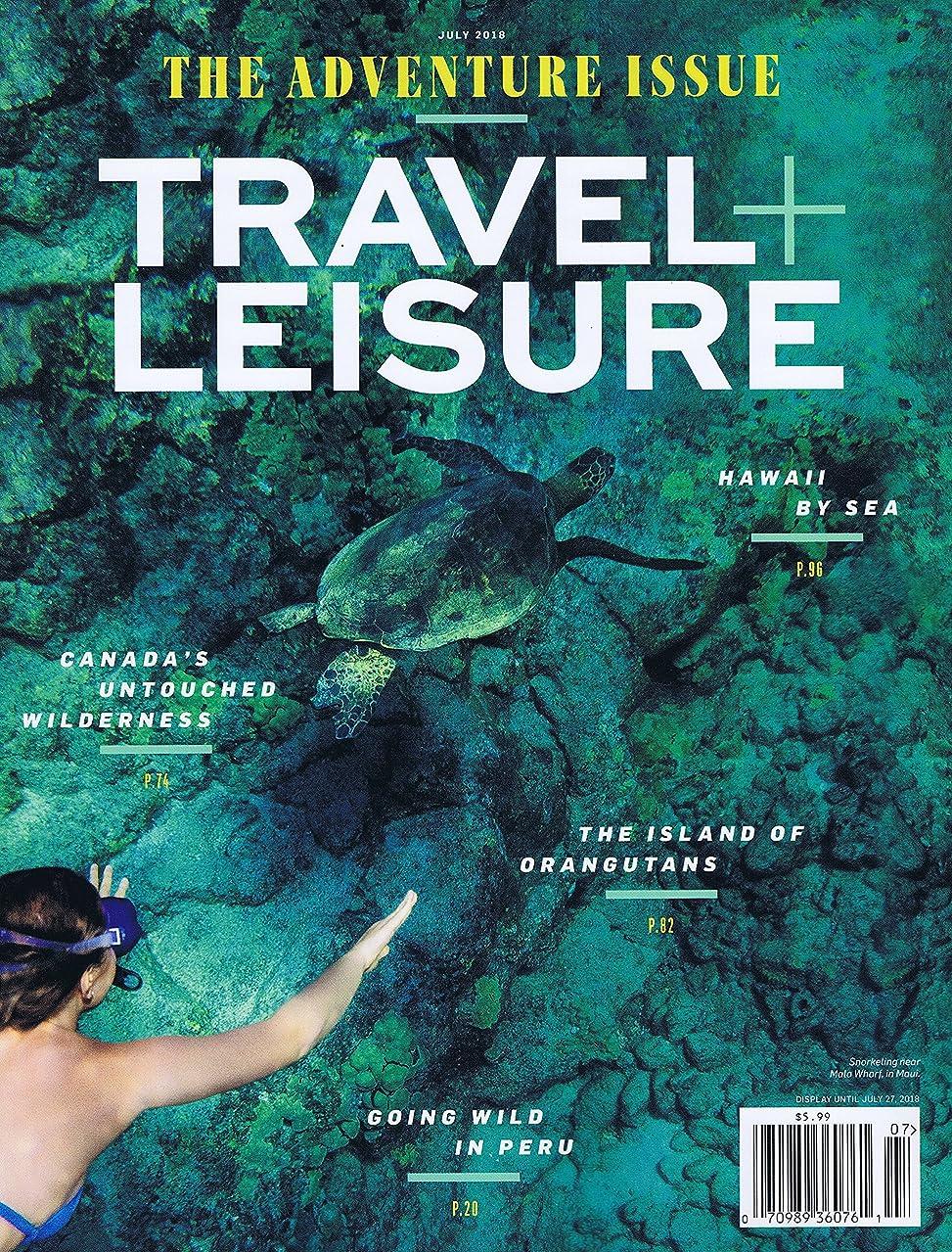 グループ倫理年金受給者Travel + Leisure [US] July 2018 (単号)