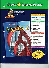 Algebra 2 Chapter 1 Resource Masters