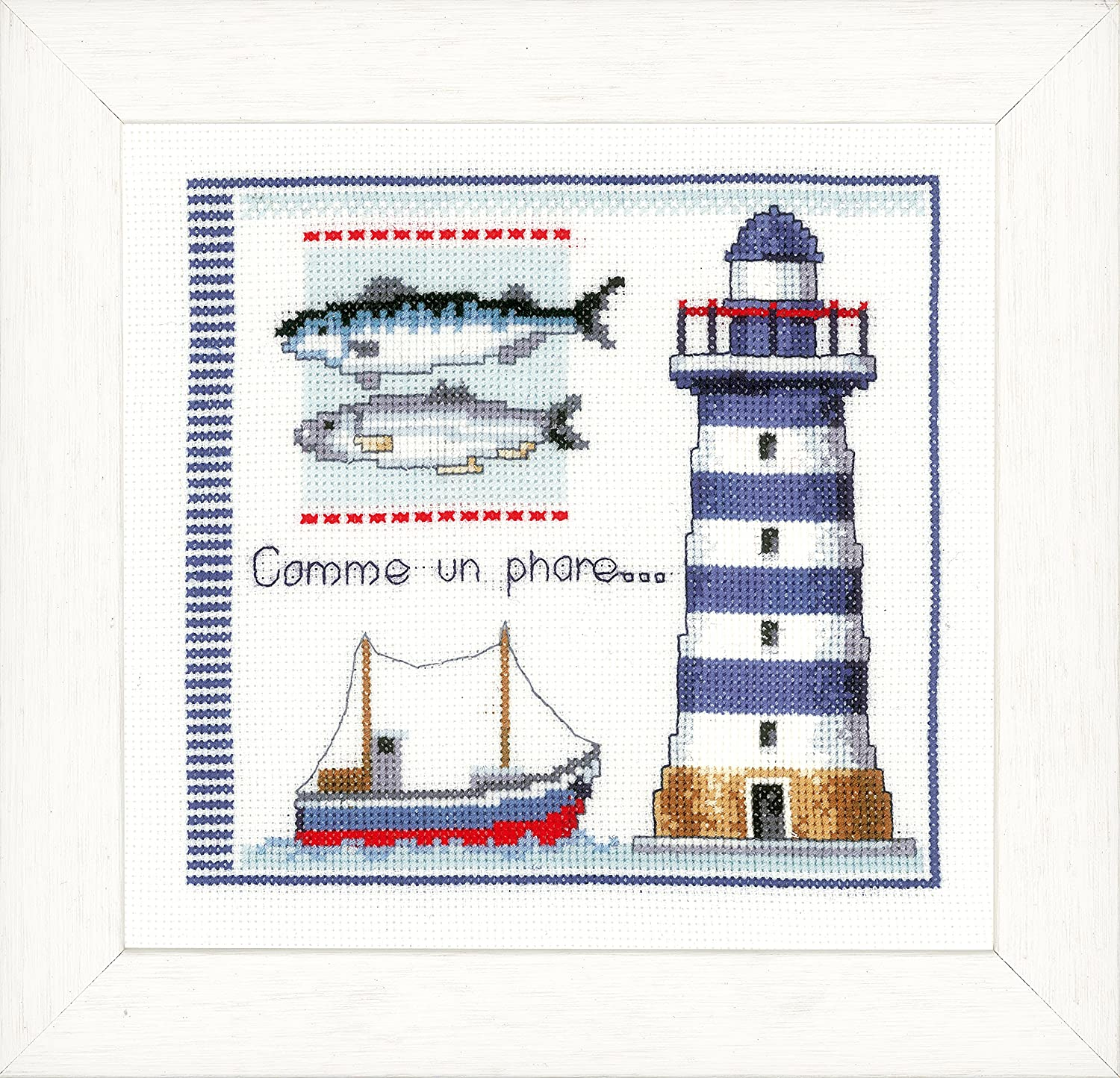 Vervaco 40% OFF Cheap Sale Lighthouse Counted Cross Multi-Colour Stitch Kit SALENEW very popular