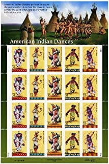 american indian dances stamps