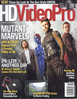 HD Video Pro Magazine (June 2014 - Mutant Marvels)