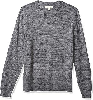 Goodthreads Men's Standard Soft Cotton V-Neck Summer Sweater