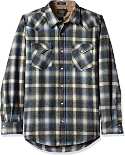 Men's Long Sleeve Button Front Fitted Canyon Shirt