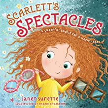 Scarlett's Spectacles: A Cheerful Choice for a Happy Heart