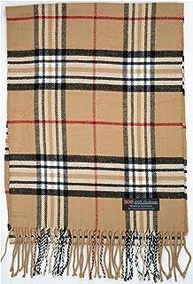 100% Cashmere Scarf Winter Nova Check Fashion Collection...