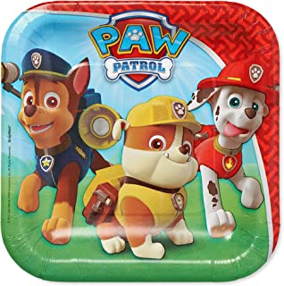 American Greetings Paw Patrol, Party Supplies, Disposable Paper Dessert Plates, 40-Count