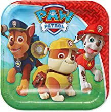 American Greetings Paw Patrol Paper Dessert Plates for Kids (40-Count) (581462)