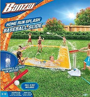 BANZAI 14ft x 14ft Homerun Splash Baseball Slide