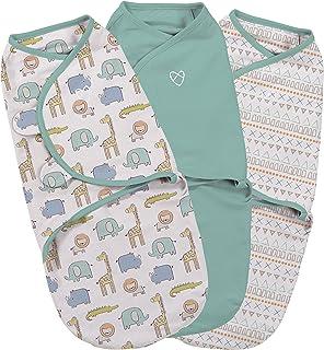 Blau SwaddleMe ** Original Swaddle FOOTSIE ** Pucksack//Schlafsack Pucktuch f/ür unruhige Babys und Schreibabys ab Geburt bis 3 Monate