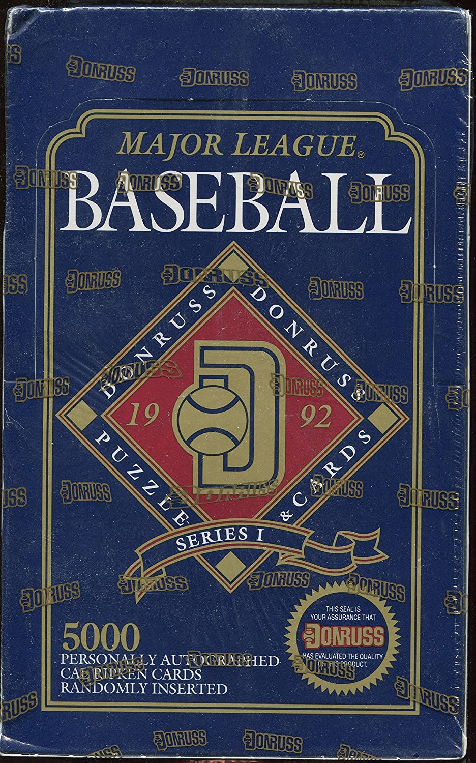 1992 Donruss Series I Major Puzzle Baseball Bombing new Beauty products work Unopene Cards League