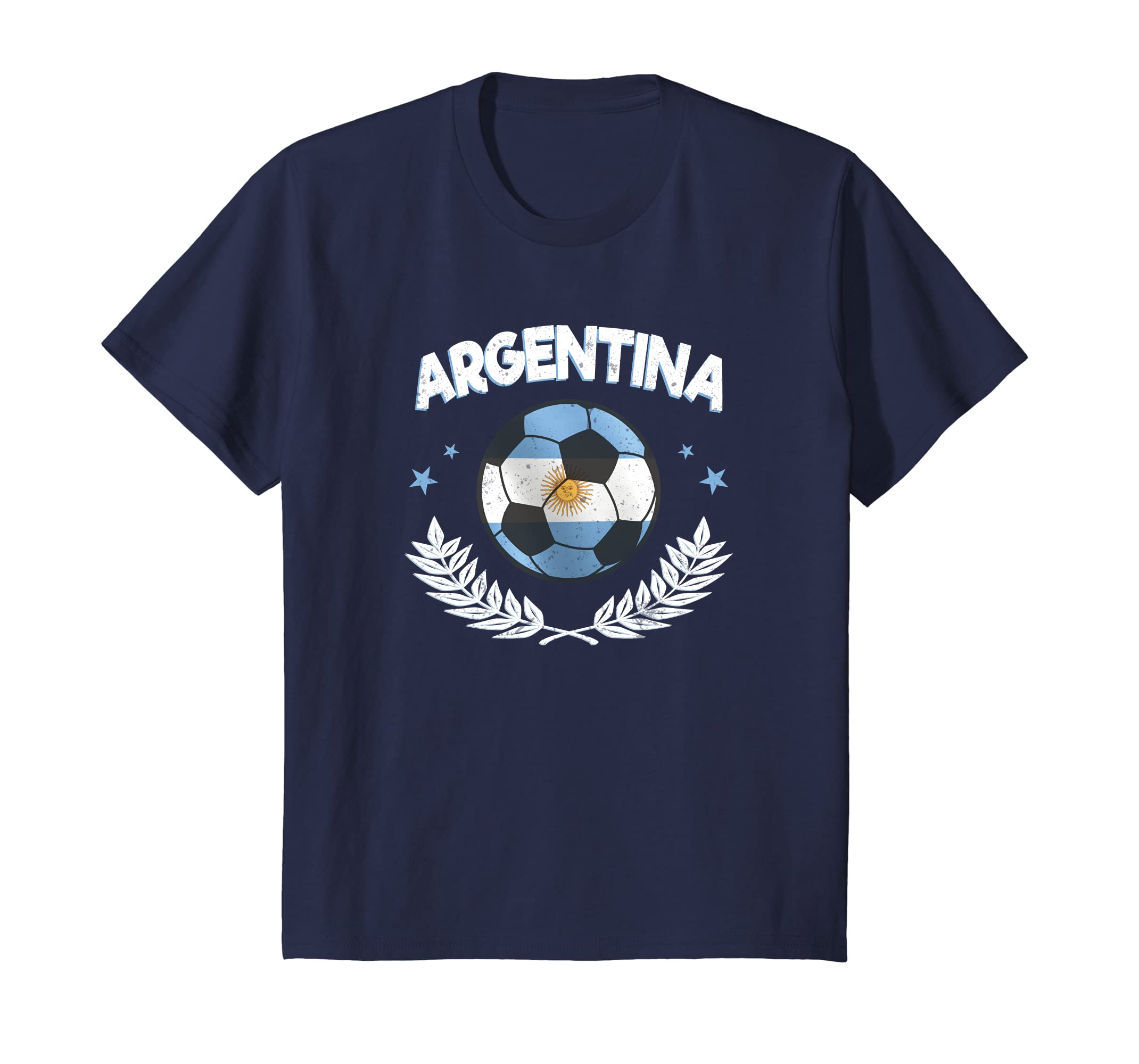 Amazon.com: Seleccion Argentina Mundial De Futbol Camisa Soccer Ball: Clothing