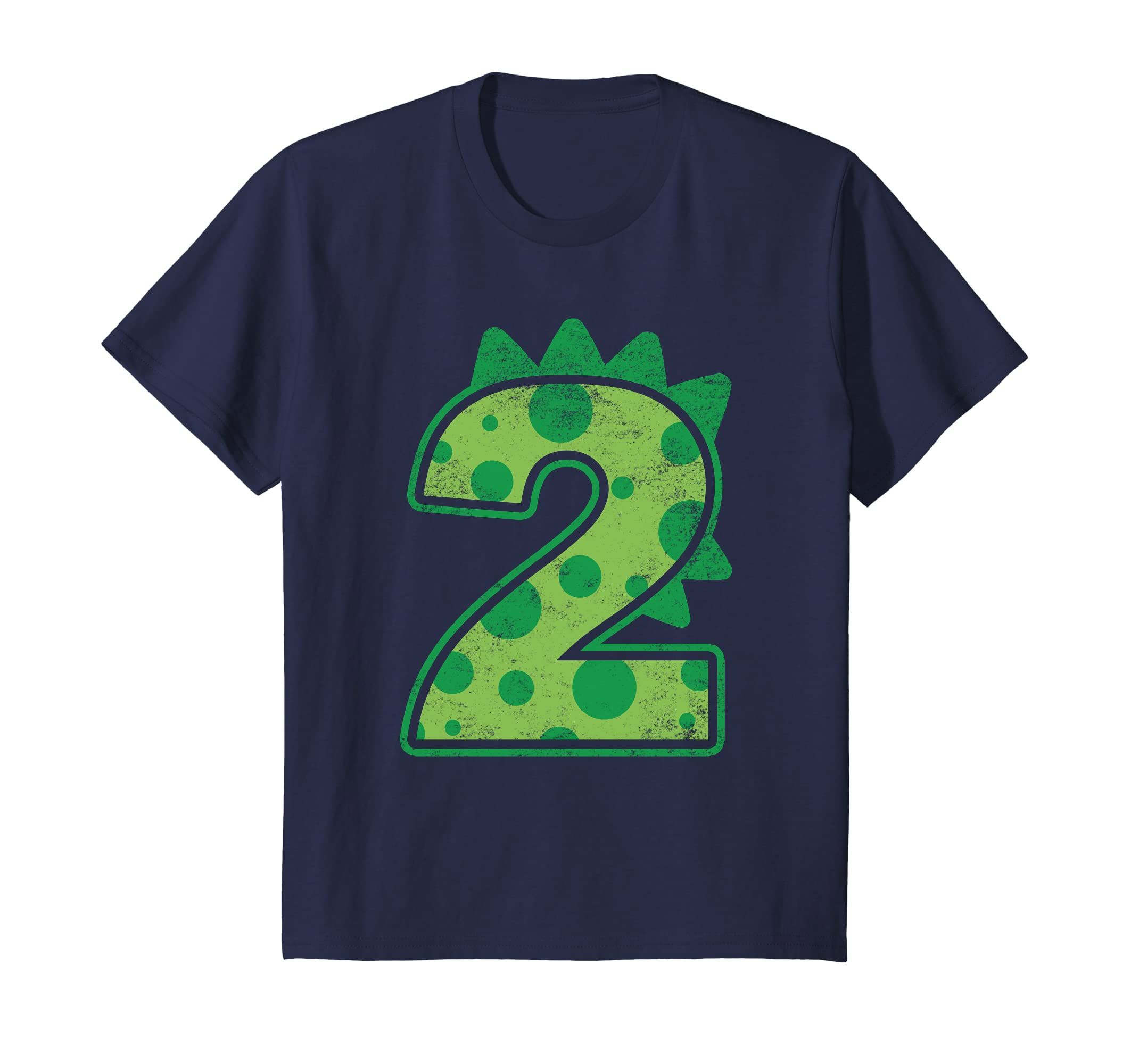 Amazon Kids Dinosaur Birthday Two 2nd T Shirt Number 2 Clothing