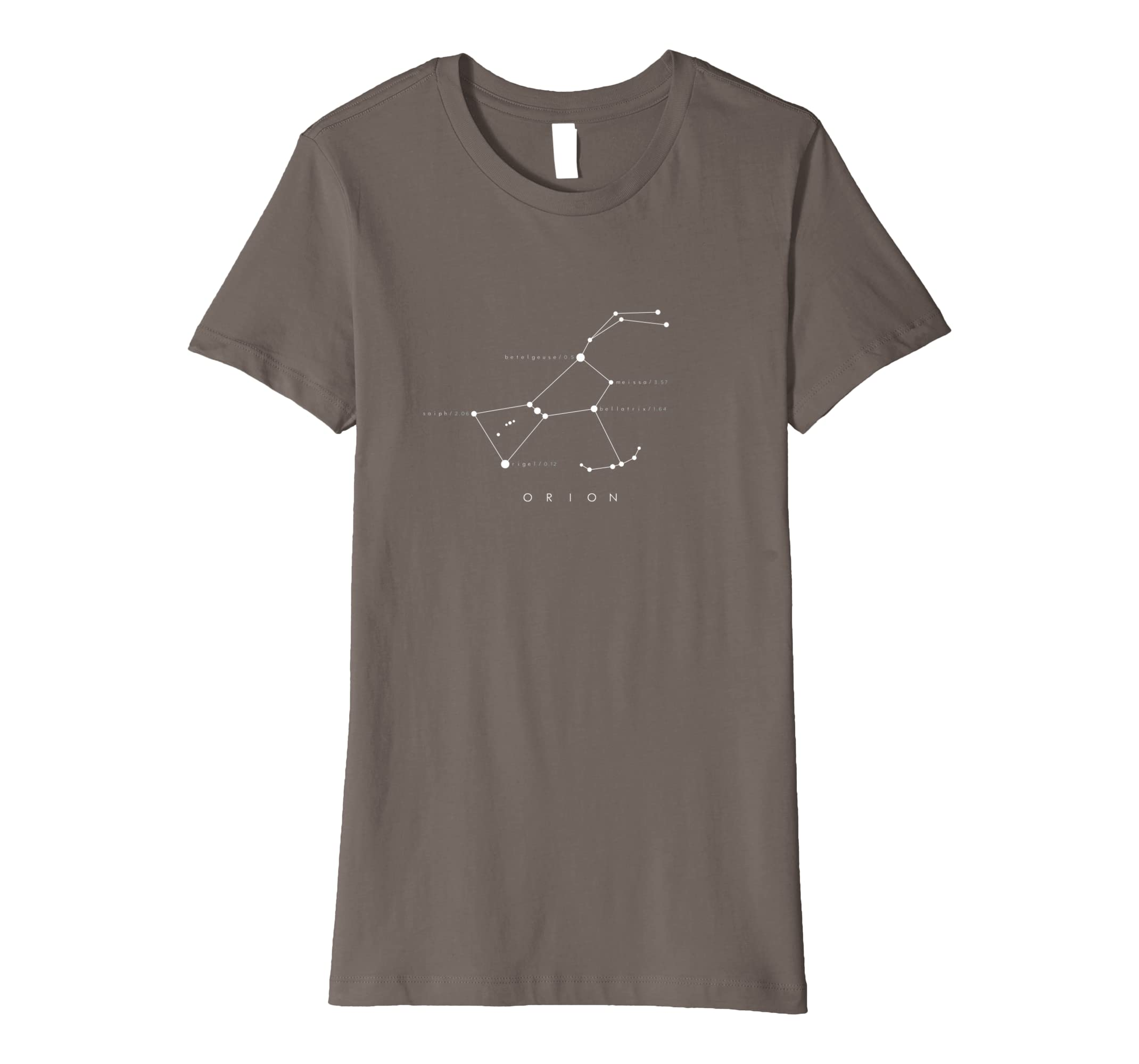 154b11e767fd3 Orion Constellation T-Shirt - Astronomy Stargazing: Amazon.co.uk ...