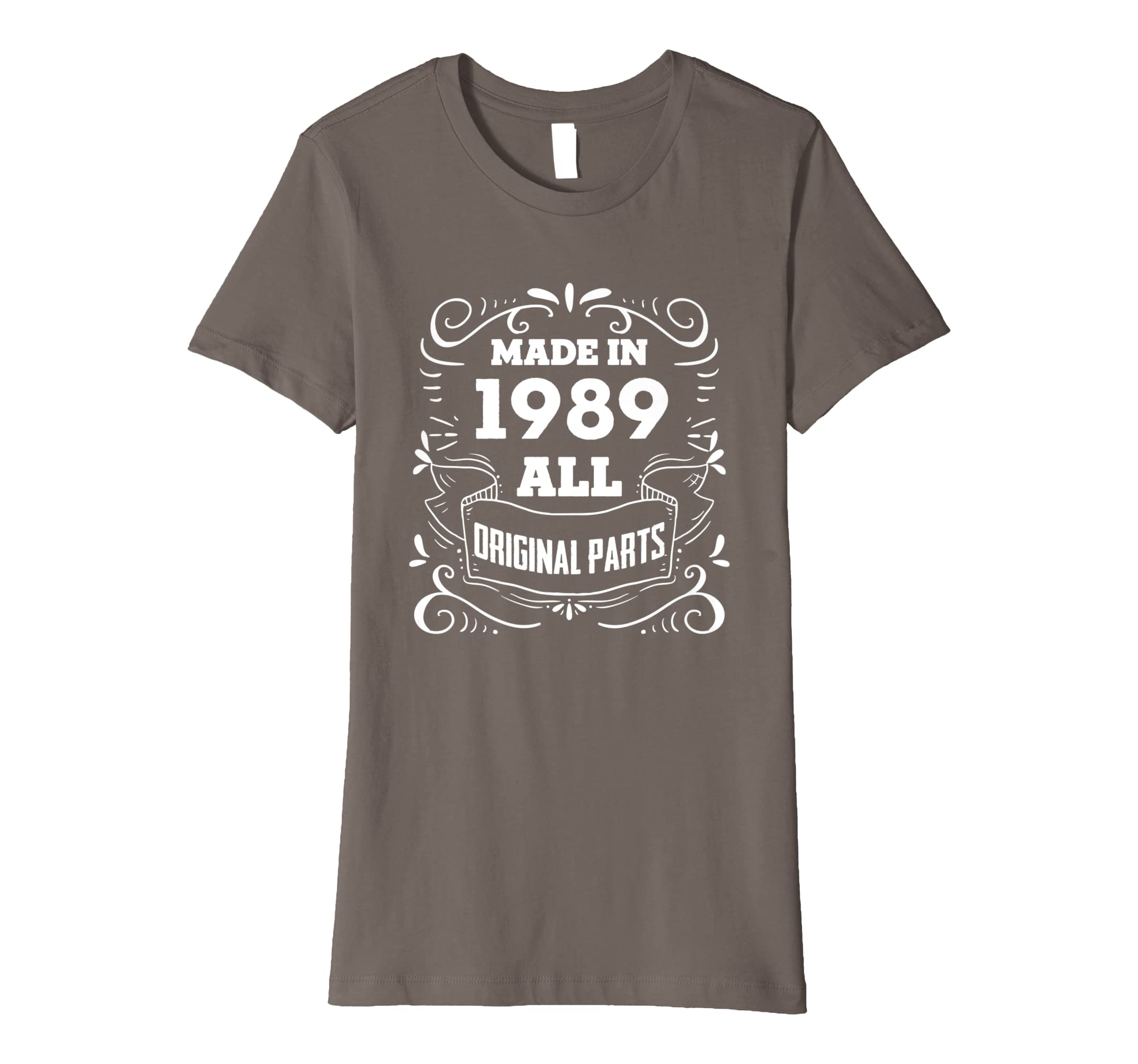 Amazon Made In 1989 Vintage 30th Yrs Old Birthday Shirt Gift QQA11 Clothing