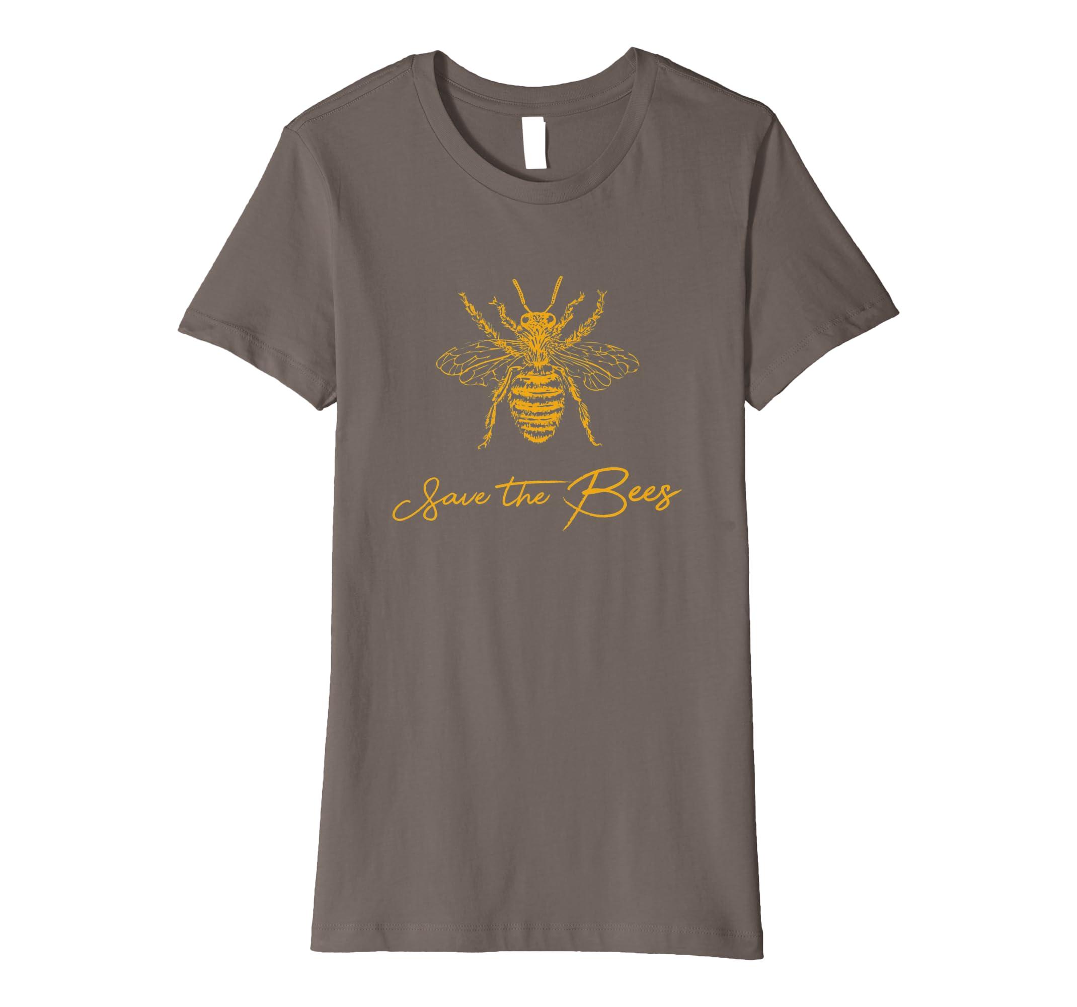 91cc7e55f349a Bienen T-Shirt - Save The Bees Imker Geschenk: Amazon.de: Bekleidung